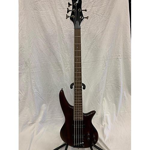 used jackson js3v concert 5 string electric bass guitar walnut stain guitar center. Black Bedroom Furniture Sets. Home Design Ideas