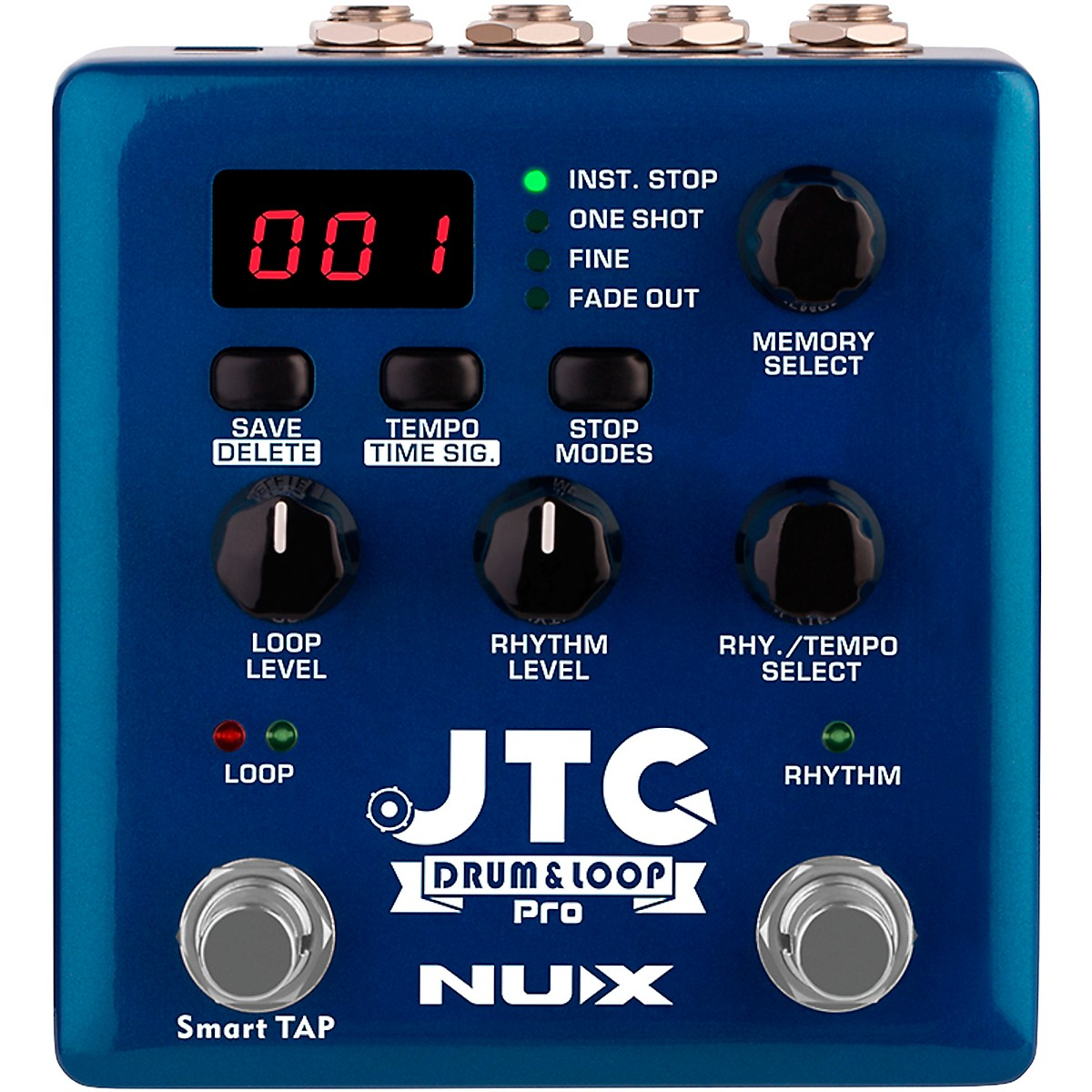 NUX JTC Pro Rhythm Looper Effects Pedal