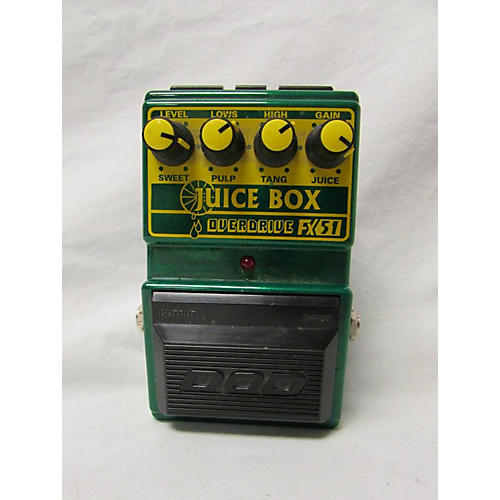DOD JUICE BOX OVERDRIVE FX51 Effect Pedal
