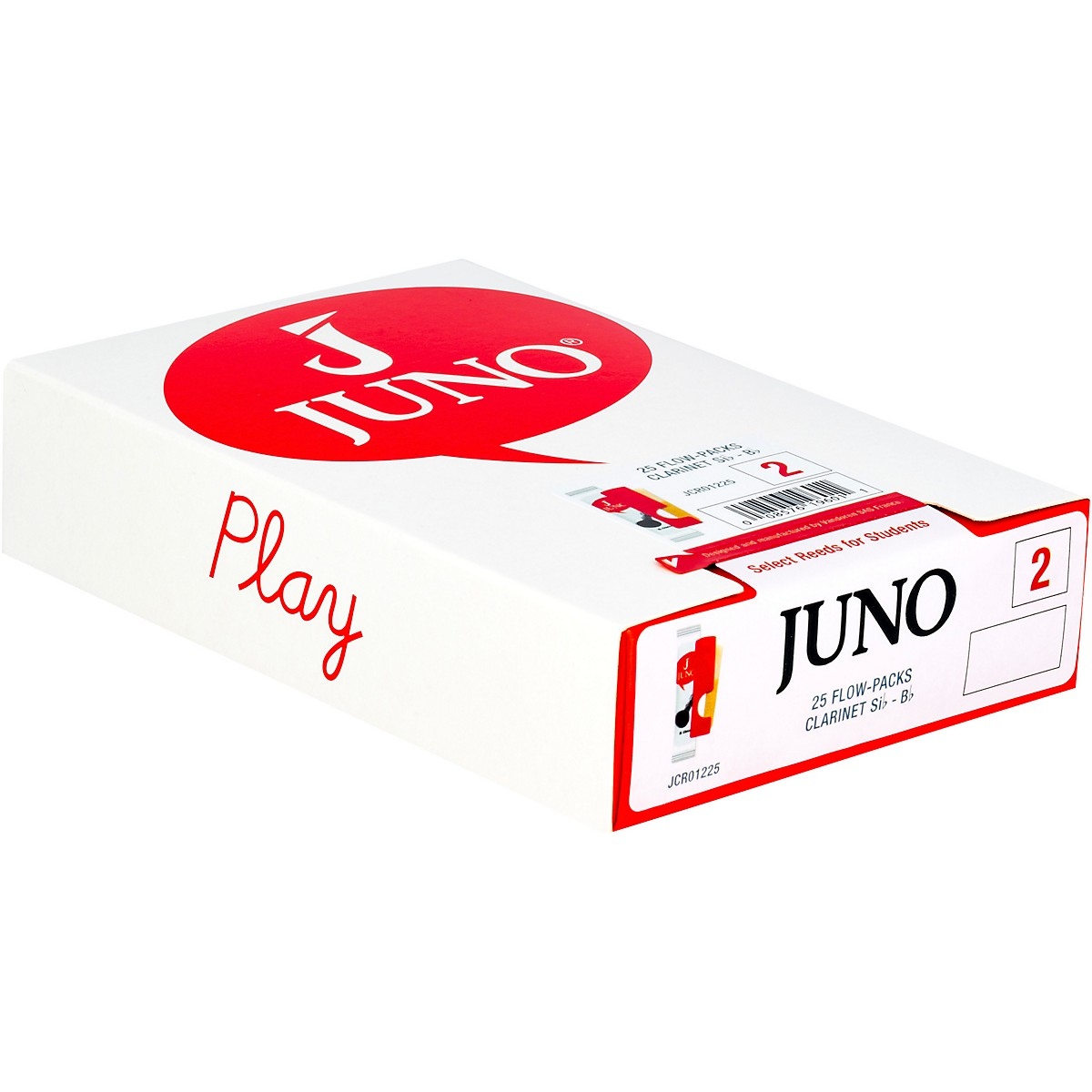 Vandoren JUNO Bb Clarinet, Box of 25 Reeds