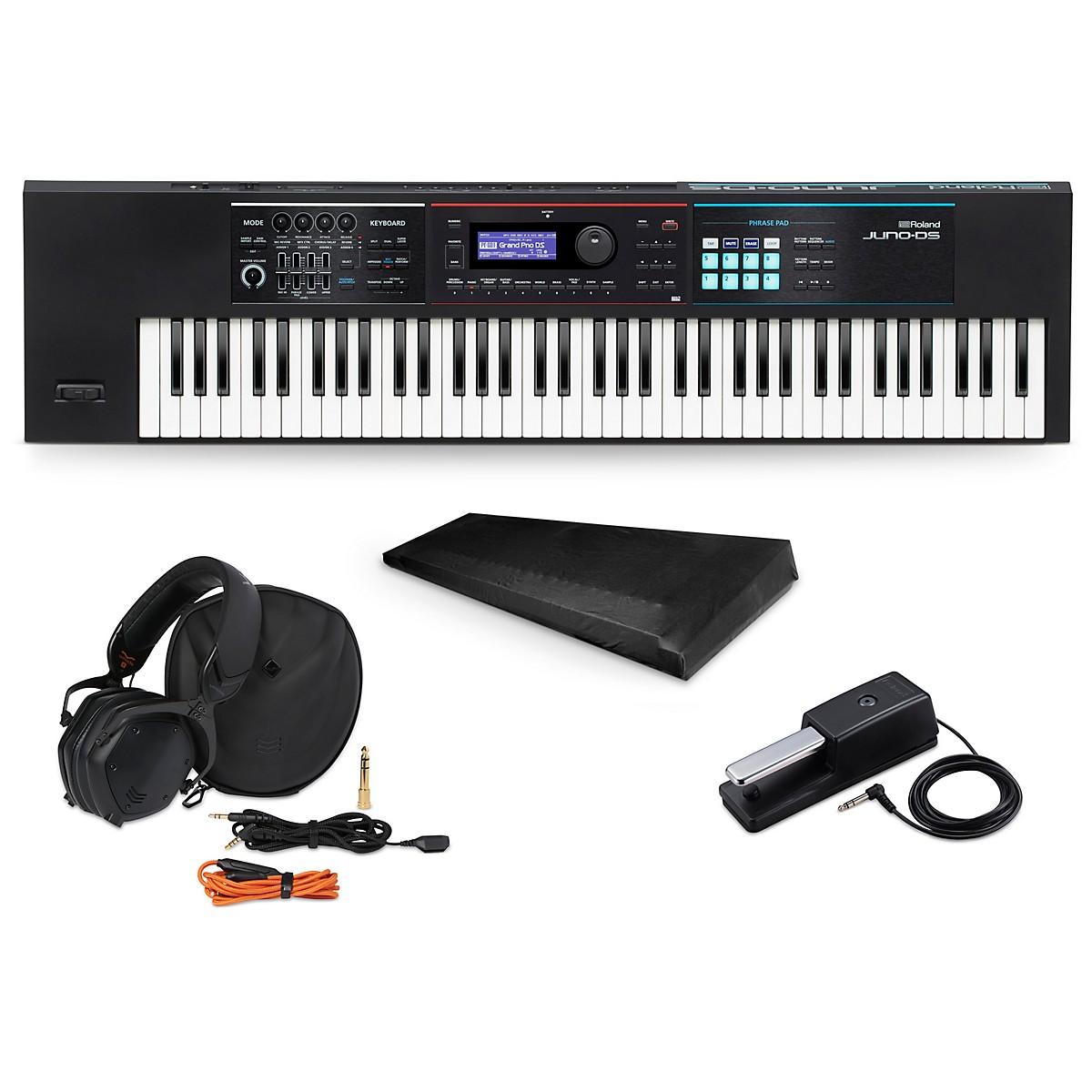 Roland JUNO-DS76 Synthesizer Essentials Package