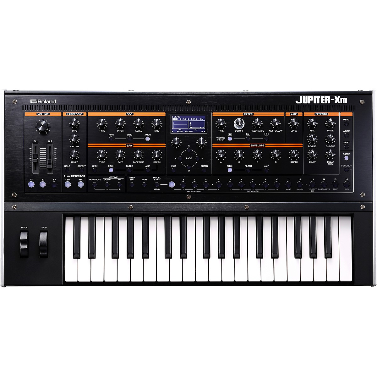 Roland JUPITER-Xm Keyboard Synthesizer