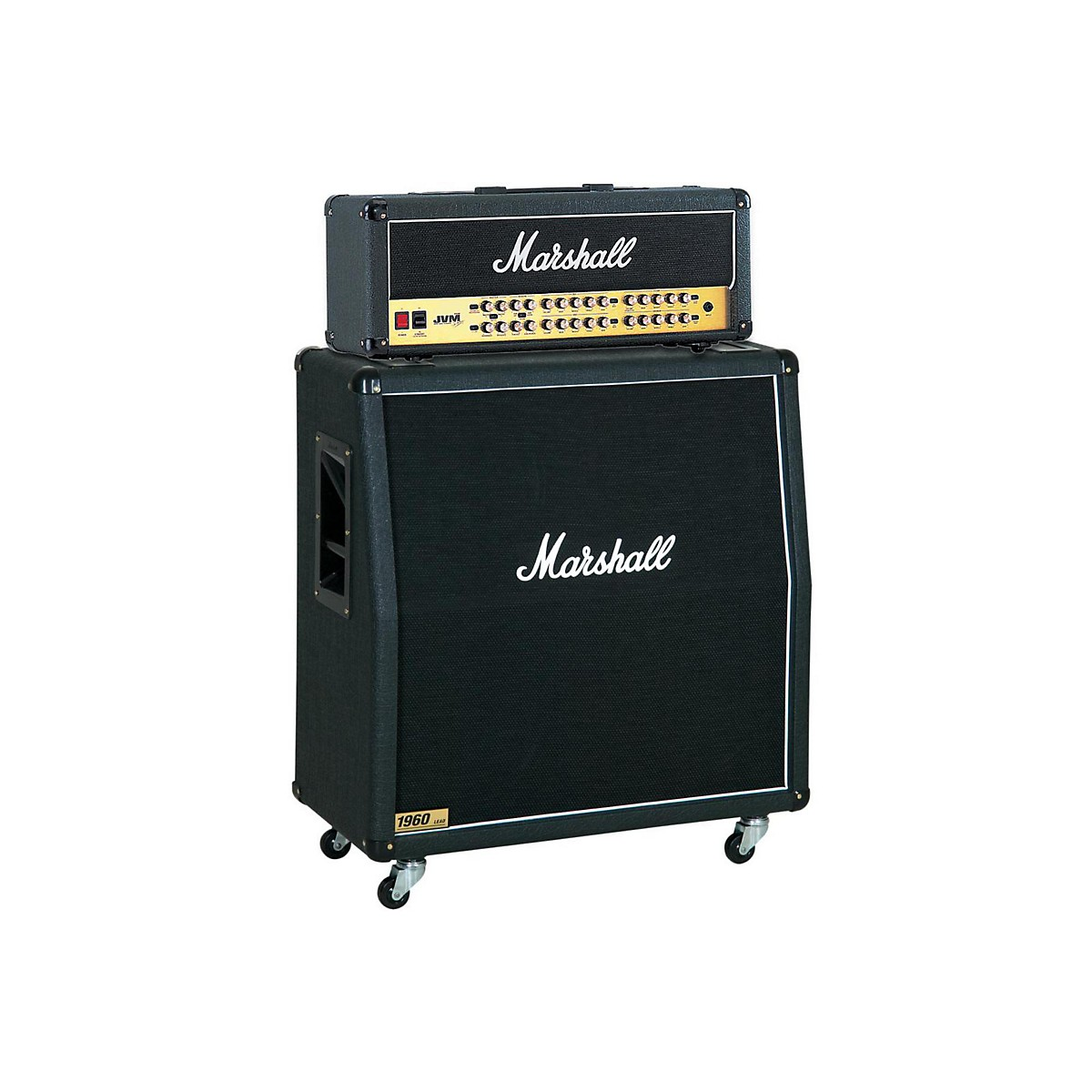Marshall JVM Series JVM410H 100W Guitar Tube Head with 1960A 300W 4x12 Cab