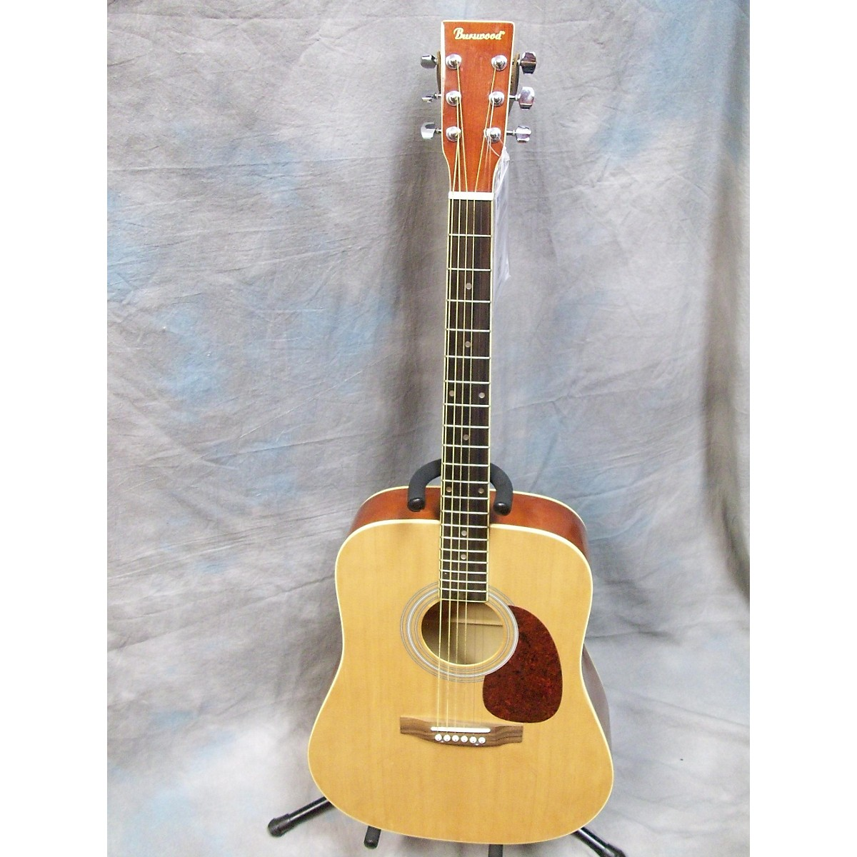 Burswood JW41F Natural Acoustic Guitar
