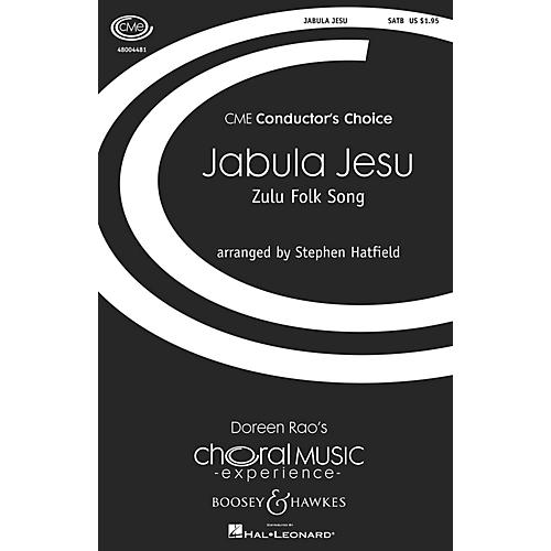 Boosey and Hawkes Jabula Jesu SSATB A Cappella arranged by Stephen Hatfield