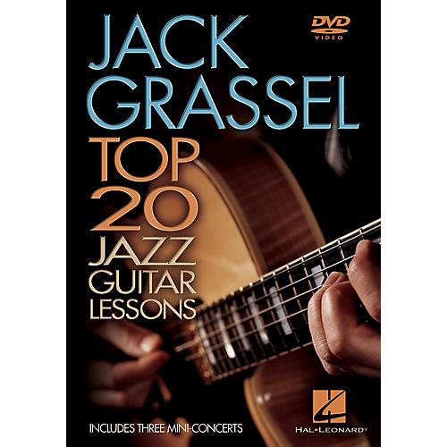 Hal Leonard Jack Grassel - Top 20 Jazz Guitar Lessons Instructional/Guitar/DVD Series DVD Performed by Jack Grassel