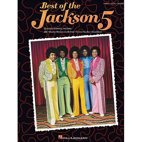 Hal Leonard Jackson 5, Best Of arranged for piano, vocal, and guitar (P/V/G)