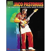 Hal Leonard Jaco Pastorius - The Greatest Jazz-Fusion Bass Player Book