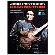 Hal Leonard Jaco Pastorius Bass Method - Book/Online Audio
