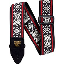 Jacquard Guitar Strap Blackjack Red