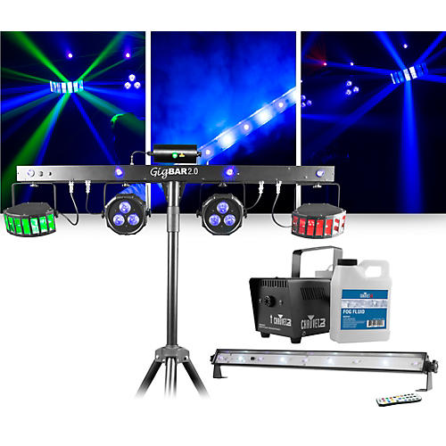 CHAUVET DJ Jam Pack Emerald with GigBAR 2 Lighting Package