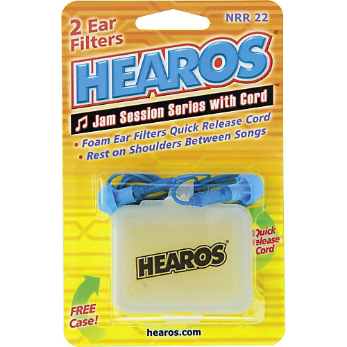 Hearos Jam Session Ear Plugs with Cord