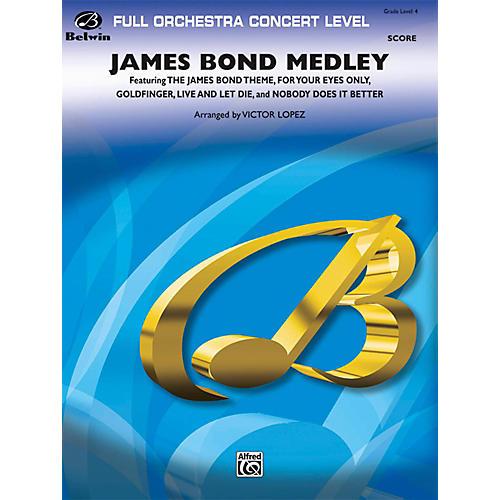 BELWIN James Bond Medley Grade 4