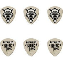 James Hetfield Signature White Fang Guitar Picks and Tin 1.14 mm 6 Pack