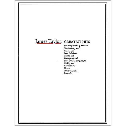 Warner Bros James Taylors Greatest Hits