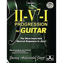 Jamey Aebersold Jamey Aebersold Jazz, Volume 3: The ii-V7-I Progression for Guitar Book & 2 CDs