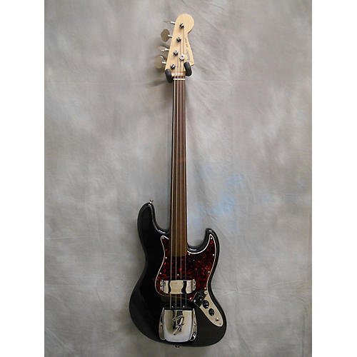 Fender Japanese Fretless Jazz Electric Bass Guitar