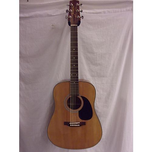 used takamine jasmine s33 acoustic guitar antique natural guitar center. Black Bedroom Furniture Sets. Home Design Ideas