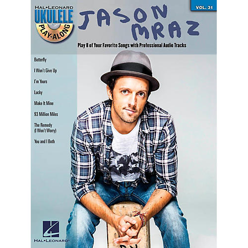 Hal Leonard Jason Mraz - Ukulele Play-Along Vol. 31 Book/CD