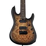 Sterling by Music Man Jason Richardson Cutlass Signature 7-String Electric Guitar Natural Poplar Burst