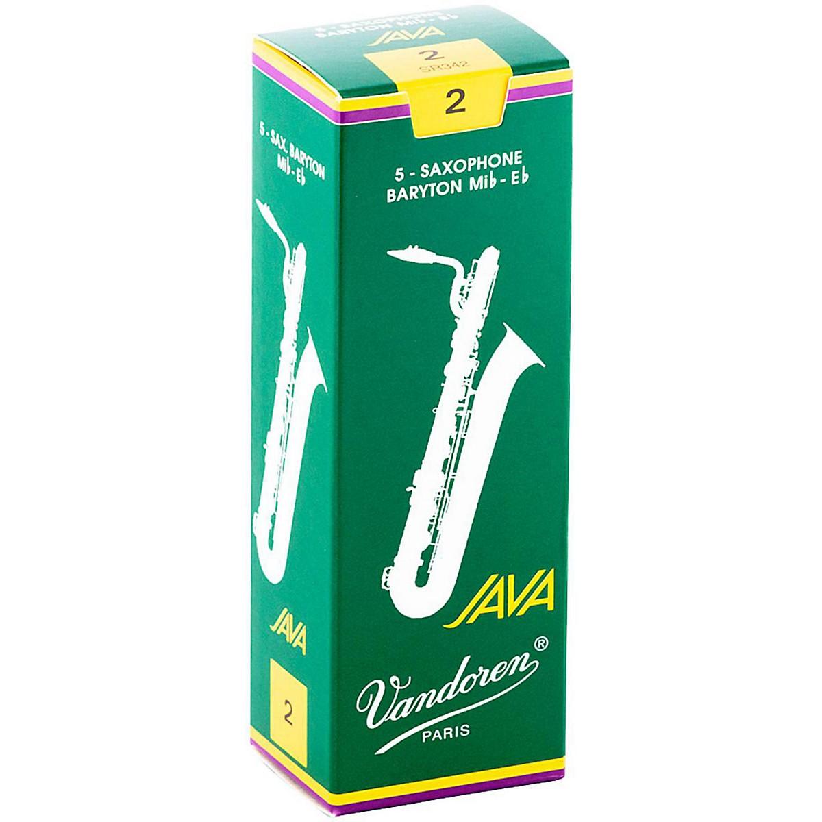 Vandoren Java Green Baritone Saxophone Reeds