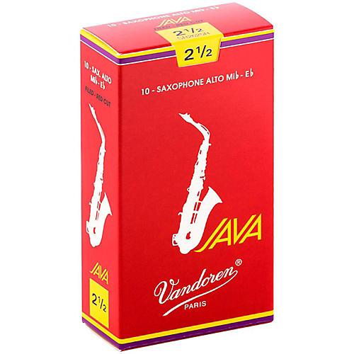 Vandoren Java Red Alto Saxophone Reeds