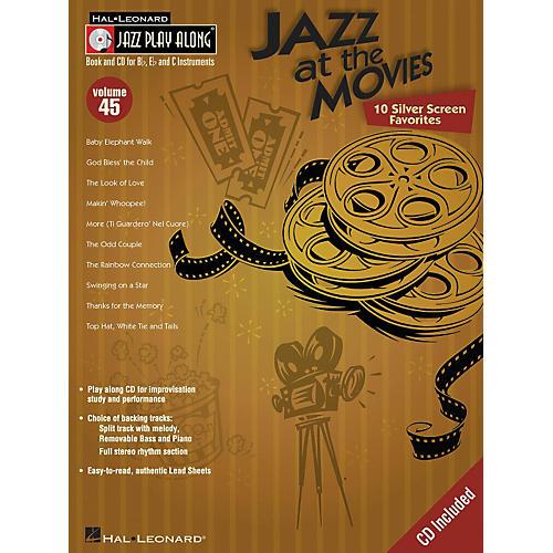 Hal Leonard Jazz At the Movies - Jazz Play-Along Series Volume 45 (Book/CD)