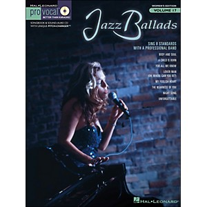 Hal Leonard Jazz Ballads - Pro Vocal Songbook and CD for Female Singers Volum... by Hal Leonard