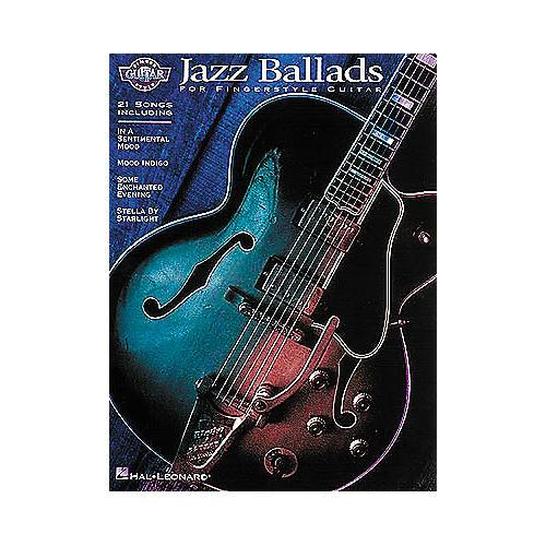 Hal Leonard Jazz Ballads for Fingerstyle Guitar Book