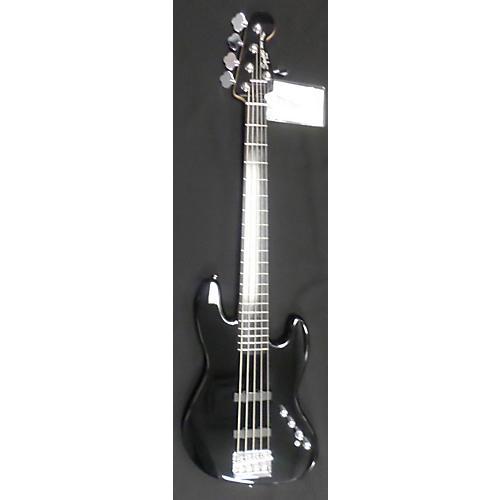 Squier Jazz Bass 5 String Black Electric Bass Guitar