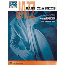 Hal Leonard Jazz Bass Classics Bass Tab Songbook