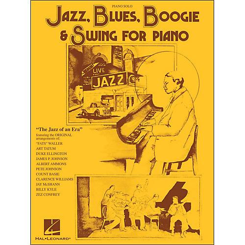 Hal Leonard Jazz, Blues, Boogie & Swing for Piano Solo