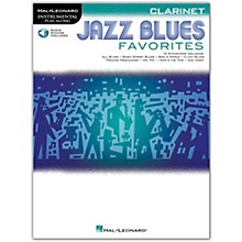 Hal Leonard Jazz Blues Favorites (Clarinet) Instrumental Play-Along Series Softcover Audio Online