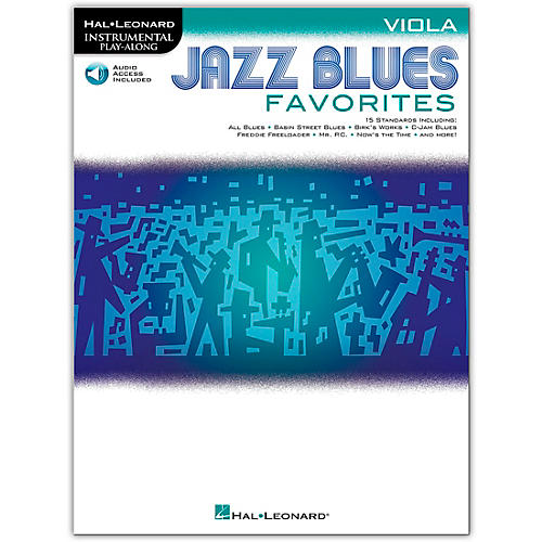 Hal Leonard Jazz Blues Favorites (Viola) Instrumental Play-Along Series Softcover Audio Online