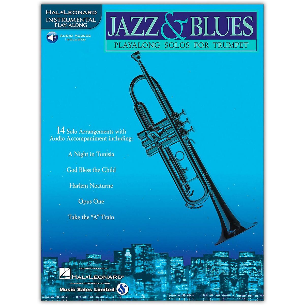Hal Leonard Jazz & Blues Playalong Solos for Trumpet (Book/Online Audio)