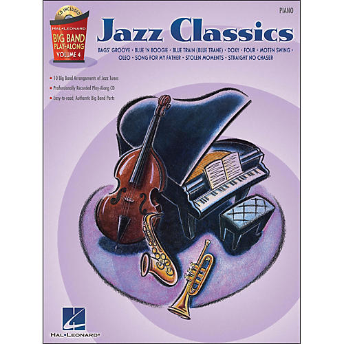 Hal Leonard Jazz Classics - Big Band Play-Along Vol. 4 Piano