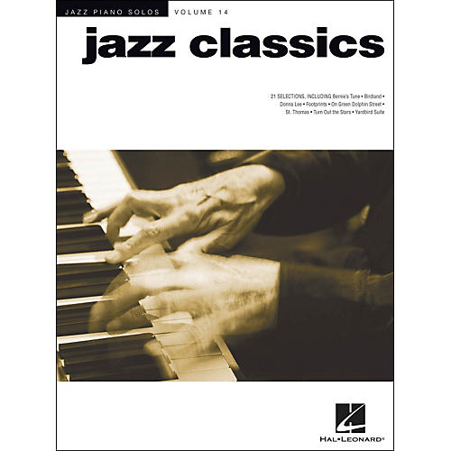 Hal Leonard Jazz Classics - Jazz Piano Solos Series Volume 14