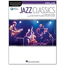 Hal Leonard Jazz Classics For Cello Instrumental Play-Along Book/Audio Online
