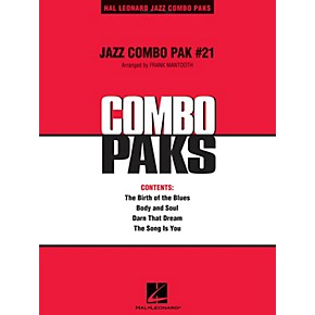 Hal Leonard Jazz Combo Pak #21 (with audio download) Jazz Band Level 3  Arranged by Frank Mantooth