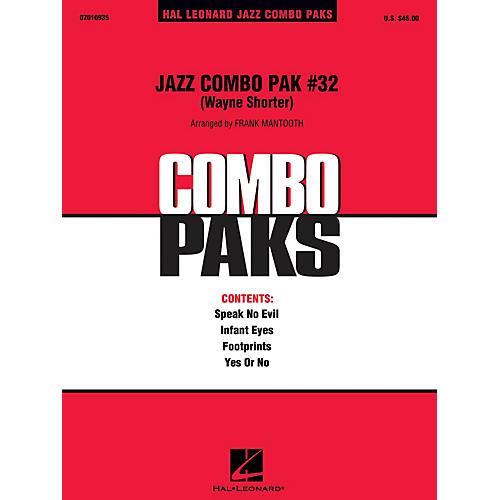 Hal Leonard Jazz Combo Pak #32 - Wayne Shorter Jazz Band Level 3 by Wayne Shorter Arranged by Frank Mantooth