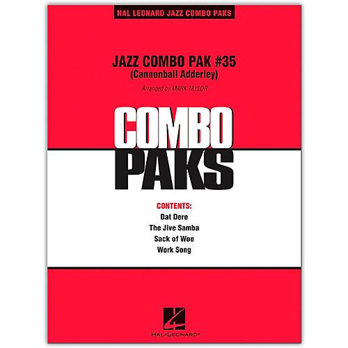 Hal Leonard Jazz Combo Pak #35 (Cannonball Adderley) Level 3 Book/Online Audio