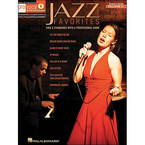 Hal Leonard Jazz Favorites - Pro Vocal Series Vol. 21 for Female Singers Book/CD