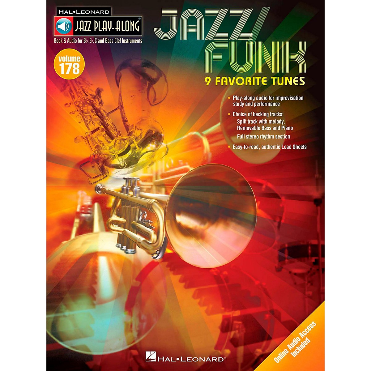 Hal Leonard Jazz/Funk - Jazz Play-Along Volume 178 Book/Online Audio