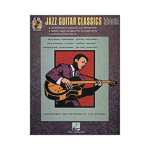 Hal Leonard Jazz Guitar Classics CD & Book