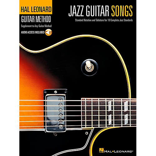 Hal Leonard Jazz Guitar Songs Hal Leonard Guitar Method Supplement Book/CD