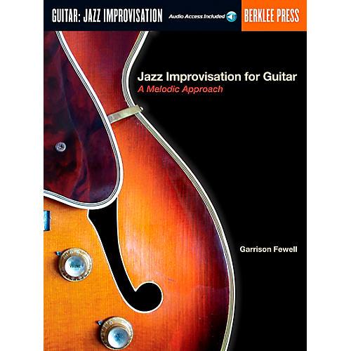 Berklee Press Jazz Improvisation for Guitar Book/Online Audio