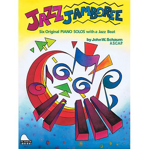 SCHAUM Jazz Jamboree Educational Piano Series Softcover
