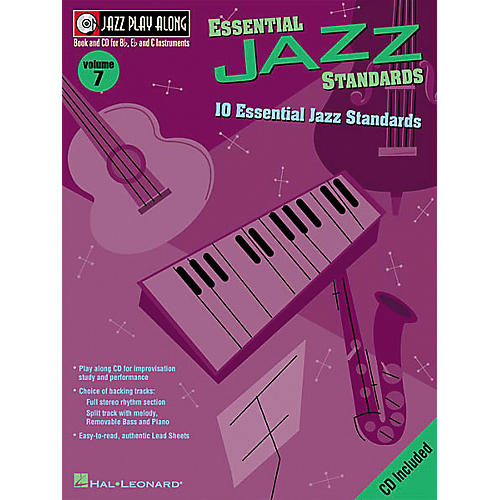 Hal Leonard Jazz Play-Along Series Essential Jazz Standards Book with CD
