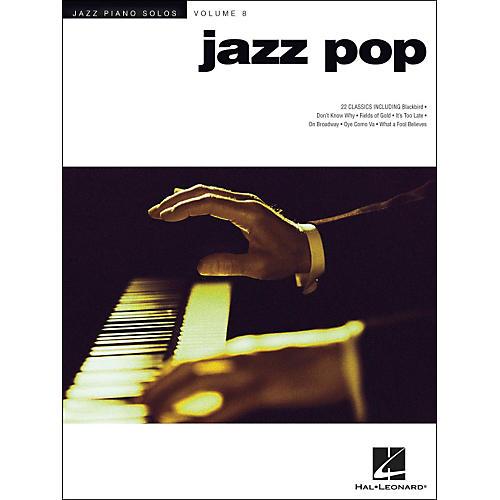 Hal Leonard Jazz Pop - Jazz Piano Solos Series Volume 8