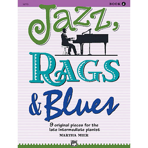 Alfred Jazz Rags & Blues Book 4